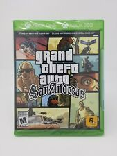 Gta Grand Theft Auto San Andreas Xbox One Xbox 360 sealed (American version)