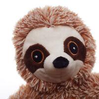 Sn _ Réaliste Sloth Animal Long Peluche Farcies Poupée Enfants Jouet Canapé