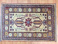 2' x 3' New Pakistani Kazak Oriental Rug - Hand Made - 100% Wool