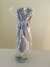 Princess Diana Danbury Mint - Navy Blue & White Striped Ensemble