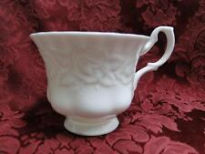 """Royal Albert Old English Garden, Embossed Roses: 2 7/8"""" Cup - No Saucer"""