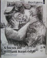 WILLIAM KENTRIDGE - vente Bonhams - 2013