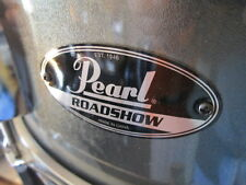 "Pearl Roadshow 14"" Snare Drum Metallic Gray OR Sparkle near mint"
