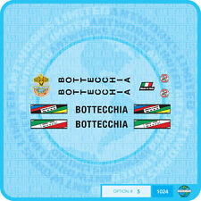 Bottecchia Bicycle Decals Transfers - Stickers - Set 5