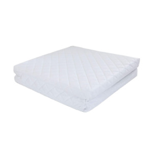 NightComfort Foldable Baby,Toddler Travel Cot Bed Mattress Quilted & Waterproof