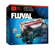 Fluval C3 POWER FILTER With Complete Media Fast Free Shipping NEW 2018 STOCK