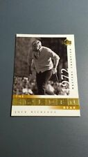 JACK NICKLAUS 2001 UPPER DECK GOLF CARD # 115 B7155