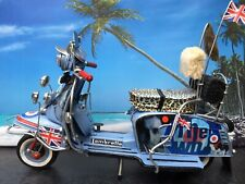 BESPOKE! TIN PLATE LAMBRETTA TV175 SPECIAL 'THE WHO' MOD 1-OFF MODEL SCOOTER