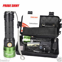 5000LM XM-L2 T6 LED Scuba Diving Underwater 500M Flashlight Torch Waterproof HOT