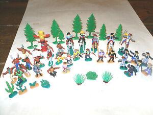 Timpo Toys Konvolut Reiter Cowboys Indianer Soldaten Sheriff usw