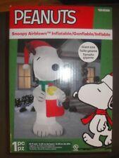 10 FT Peanuts Snoopy Santa w/ Woodstock  Christmas Airblown Inflatable 0848066