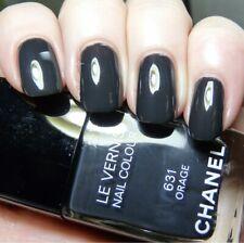 Authentic Chanel Le Vernis Nail Colour 631 Orage 13ml New Dark Grey gray Fall