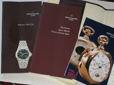 Owners Manual Booklets 5085/1A-001 Spanish Genuine Patek Philippe Neptune Watch