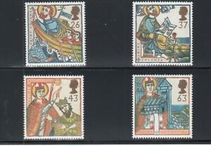 GREAT BRITAIN (MM19) # 1730-1733 VF-MNH VARp 1997 CHRISTMAS STAMPS