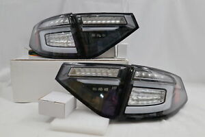 NEW Black LED Sequential Tail Lights for 2008-2014 Subaru Impreza WRX Hatchback