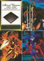 ORIGINAL Vintage 1994 Fleer Flair Marvel Uncut Promo Card Sheet Spiderman