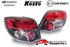 GENUINE Subaru Impreza / WRX HATCH 05~07 Pair LH+RH Tail Light Lamp Black