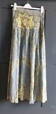 FREE PEOPLE  Farrah Drop Waist Skirt  Light Blue