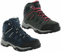 Hi-Tec Bandera Womens Winter Boots Leather Waterproof Suede Walking Hiking Trail