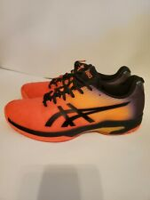 New listing Mens Asics Tennis Shoes Size 11.5 Orange - Only Worn Once. In Great Condition!