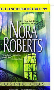Suspicious by Nora Roberts (Paperback, 2005)