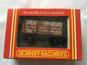 HORNBY R199 ' GREAT MOUNTAIN COLLIERIES ' END TIPPING WAGON - BOXED (Ref 543)