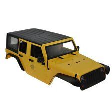 RC Rock Crawler 1:10 Jeep Wrangler Rubicon Car Shell for Axial SCX10 RC4WD D90