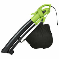 7.5 Amp 3-in-1 Electric Leaf Blower Leaf Vacuum Mulcher 6 Speeds 170MPH