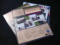 New Sealed Pack Creative Memories Neutral Photo Mounting Paper 6 colors//12 sheet