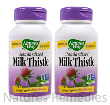 Nature's Way, Milk Thistle, Standardized, 240 Veggie Caps LIVER FUNCTION