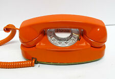 Orange Western Electric Rotary Princess Telephone - Full Restoration