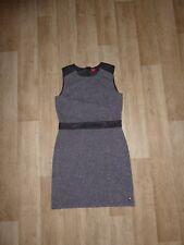 S.OLIVER Mini Kleid Etuikleid Ärmellos Meliert Gr.170 **NEU**