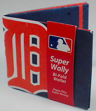 NEW! Detroit Tigers Billfold Wallet MLB Credit Card Holder Super Wally Gift
