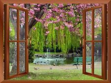 "Wall26 - Cherry Blossom in Spring Removable Wall Sticker / Wall Mural - 24""x32"""