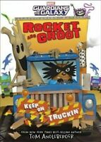 Rocket and Groot: Keep on Truckin  -   Marvel - Signed by Author