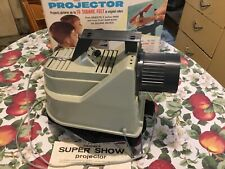 Vintage Kenner's Electric Super Show  Projector with Box and Instruction Sheet