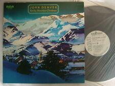 PROMO WHITE LABEL / JOHN DENVER ROCKY MOUNTAIN CHRISTMAS / GATEFOLD COVER RVVP-6