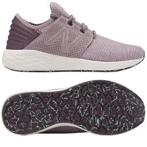 New Balance Ladies Fresh Foam Cruz v2 Knit Trainers Running Walking Gym Shoes