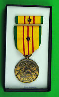 Vietnam Service Medal & 1 Bronze Campaign Star Box Dated 1969