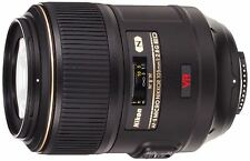 Nikon AF-S VR Micro NIKKOR 105mm f/2.8 G IF-ED DSLR Camera Lens