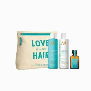Limited edition Moroccanoil extra volume shampoo and conditioner 250ml gift set