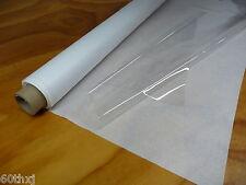 "SUPER CLEAR PLASTIC / VINYL SHEETING FOR WINDOWS 54""x 50yds x 10 MIL"