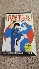 RANMA 1/2 Volume 1: manga by Ruminki Takahashi paperback Good Condition