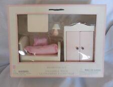 Pottery Barn Kids Doll Bedroom Set Toy NIB