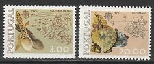 PORTUGAL 1976 EUROPA SET MNH **