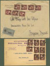 Una racc. del 1946 ed una cart.commerciale del 1949
