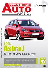 Manuale Diagnosi impianto elettrico ed elettronico auto - Opel Astra J 1.7 CDTi