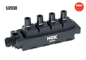 NGK Ignition Coil U2030 fits BMW 3 Series 316 i (E30) 75kw, 316 i (E36) 75kw,...