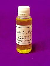 ACEITE de ARGAN VIRGEN 1ª PRESION (no desodorizado )100% PURO!! 30 ml