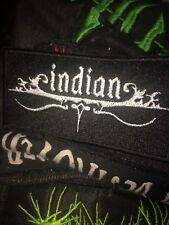Indian Sludge Band Patch, Lord Mantis, Primitive Man, Eagle Twin, Eyehategod